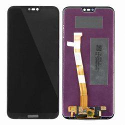 LCD + Érintőpanel teljes Huawei Ascend P20 LITE ANE-AL00, ANE-TL00, ALE-LX1, ANE-L21 Fekete
