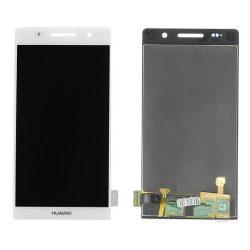 LCD + Érintőpanel teljes Huawei Ascend P6 FEHÉR