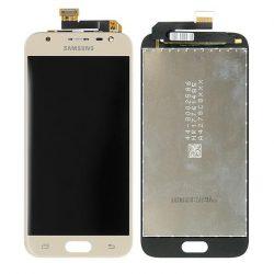 LCD + Érintőpanel teljes SAMSUNG J330 GALAXY J3 2017 GOLD [HQ LCD]