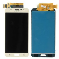 LCD + Érintőpanel teljes SAMSUNG J710 GALAXY J7 2016 GOLD [HQ LCD]