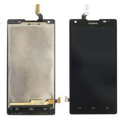 LCD + Érintőpanel teljes Huawei Ascend G700 U8950 Fekete