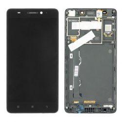 LCD + Érintőpanel teljes Lenovo A7000 fekete keret [OU]