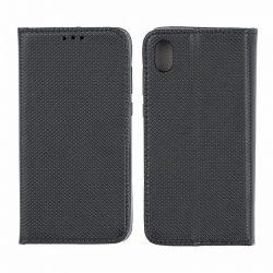 Flip Tok Mágneses Huawei S5 2019 Fekete Telefontok
