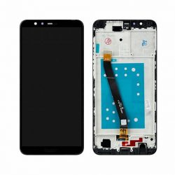 LCD + Érintőpanel teljes HUAWEI HONOR 7X BND-TL10 BND-AL10, BND-L21 Fekete kerettel