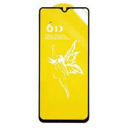 Samsung A202 Galaxy A20e - Edzett Üveg Tempered Glass 0.3mm 5d Fekete Üvegfólia