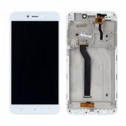 LCD + Érintőpanel teljes Xiaomi redmi 5A FEHÉR kerettel