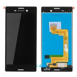 LCD + Érintőpanel teljes SONY XPERIA M4 AQUA Fekete [O]
