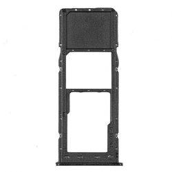 SIM kártya tartó SAMSUNG GALAXY A105 A10 Fekete