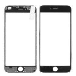 Üvegfólia védőüveg iPhone 6 Plus fekete foglalattal és OCA és polarizált FILM