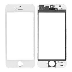 Üvegfólia védőüveg iPhone 5 FEHÉR csatlakozóaljzat és OCA és polarizált FILM