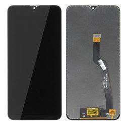 LCD + Érintőpanel Teljes Samsung A105 Galaxy A10 Fekete [Hq]