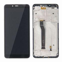 LCD + Érintőpanel teljes Xiaomi redmi 6 / 6A Fekete kerettel és az érzékelő