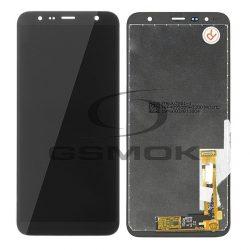 LCD + Érintőpanel Teljes Samsung J610 J415 Galaxy J6 Plus J4 Plus 2018 Fekete [Hq]