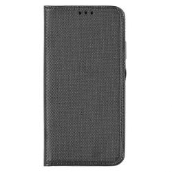 Flip Tok Mágneses Huawei P40 Lite Fekete Telefontok