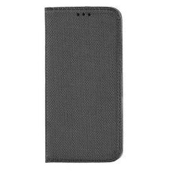 Flip Tok Mágneses Huawei P40 Lite E Fekete Telefontok