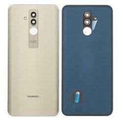 Akkumulátor Telefontok Ház Huawei Mate 20 Lite Arany Kamera Lencséje