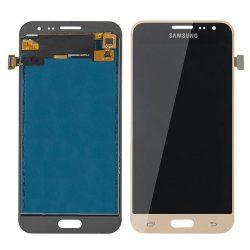 LCD + Érintőpanel Teljes Samsung J320 Galaxy J3 2016 Zloty [Ogs]