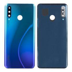 Akkumulátor Telefontok Ház Huawei P30 Lite Kék Kamera Lencséje