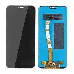 LCD + Érintőpanel Teljes Huawei Ascend P20 Lite Ane-Al00, Ane-Tl00, Ale-Lx1, Ane-L21 Fekete No Logo