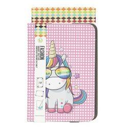 Univerzális Tablet Tok 7-8 Inch Rainbow Unicorn Telefontok