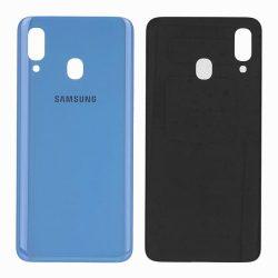 Akkumulátor Telefontok Ház Samsung A405 Galaxy A40 Kék