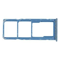 Sim Kártya Tartó Samsung Galaxy A505 A50 Kék Gh98-43922c [Eredeti]
