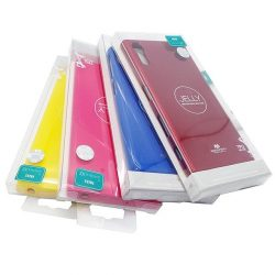 Mercury Color Pearl Jelly Huawei P40 Pro Fekete Telefontok