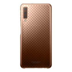 Samsung Gradation Cover Hard Gradient tok telefon tok hátlap Samsung Galaxy A7 2018 A750 arany (EF-AA750CFEGWW)
