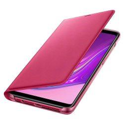 Samsung Wallet Cover kinyitható flipes tok kártya tartóval Samsung Galaxy A9 2018 pink (EF-WA920PPEGWW)