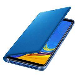 Samsung Wallet Cover kinyitható flipes tok kártya tartóval Samsung Galaxy A9 2018 blue (EF-WA920PLEGWW)