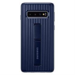 SAMSUNG álló védőtok Galaxy S10 Fekete telefontok