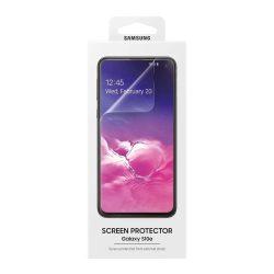 Samsung képernyővédő fólia 2x védő fólia Samsung Galaxy S10e G970 átlátszó (ET-FG970CTEGWW) kijelzőfólia