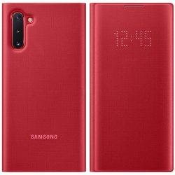 Samsung LED View Cover LED kijelzővel Samsung Galaxy Note 10 vörös (EF - NN970PREGWW) telefon tok telefontok