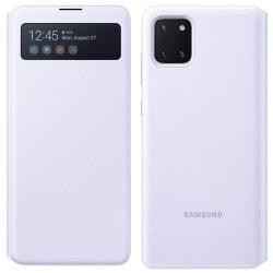 Samsung S megtekintése Wallet kinyitható flipes tok Intelligent Display Samsung Galaxy Note 10 Lite fehér (EF-EN770PWEGEU)