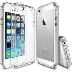 Ringke Fusion PC tok telefon tok hátlap TPU bumper iPhone SE / 5S / 5 világos (RFAP004)