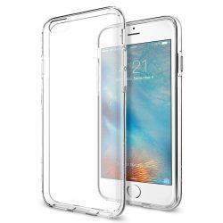 Spigen Liquid Crystal telefon tok iPhone 6S / 6 átlátszó telefon tok telefontok (hátlap)