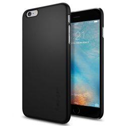 Spigen Vékony Fit ultravékony telefon tok iPhone 6S Plus / 6 Plus fekete (fekete) tok telefon tok hátlap