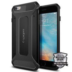 Spigen Robusztus Armor telefon tok iPhone 6S Plus / 6 Plus fekete (fekete)