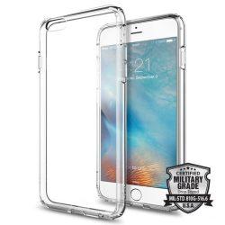 Spigen Ultra hibrid telefon tok iPhone 6S Plus / 6 Plus átlátszó (Crystal Clear) tok telefon tok hátlap