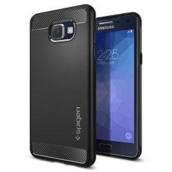 SPIGEN SNP RUGGED PÁNCÉLOK GALAXY A5 2016 BLACK Samsung Galaxy tok telefon tok hátlap