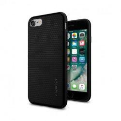 Spigen Liquid Air Armor telefon tok iPhone 8/7 fekete tok telefon tok hátlap