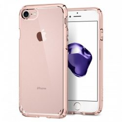 Spigen Ultra Hybrid 2 telefon tok iPhone 8/7 rózsaszín telefon tok telefontok