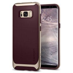 Spigen Neo Hybrid telefon tok Samsung Galaxy S8 G950 piros (burgundi) tok telefon tok hátlap
