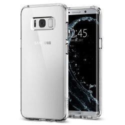 Spigen Ultra hibrid telefon tok Samsung Galaxy S8 G950 átlátszó tok telefon tok hátlap