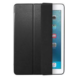 Spigen Smart Fold kitámasztó telefon tok iPad 9,7 2018 / 9,7 2017 fekete (fekete) tok telefon tok hátlap