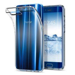 Spigen Liquid Crystal tok fedelet Huawei Honor 9 átlátszó (Crystal Clear) tok telefon tok hátlap