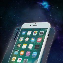 Ringke Invisible Defender 2x Teljes TPU lefedettség képernyővédő fólia iPhone 8 Plus / 7 Plus - tok telefon tok barát (IFAP0002-RPKG) kijelzőfólia