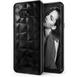 Ringke Air Prism Ultra-vékony 3D Cover Gel TPU telefon tok telefontok Samsung Galaxy S8 G950 fekete (APSG0004-RPKG)