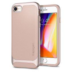Spigen Neo Hybrid Herringbone telefon tok iPhone 8/7 rózsaszín (Pale som) tok telefon tok hátlap