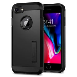 SPIGEN TOUGH ARMOR 2 IPHONE 7/8 BLACK telefon tok telefontok (hátlap)